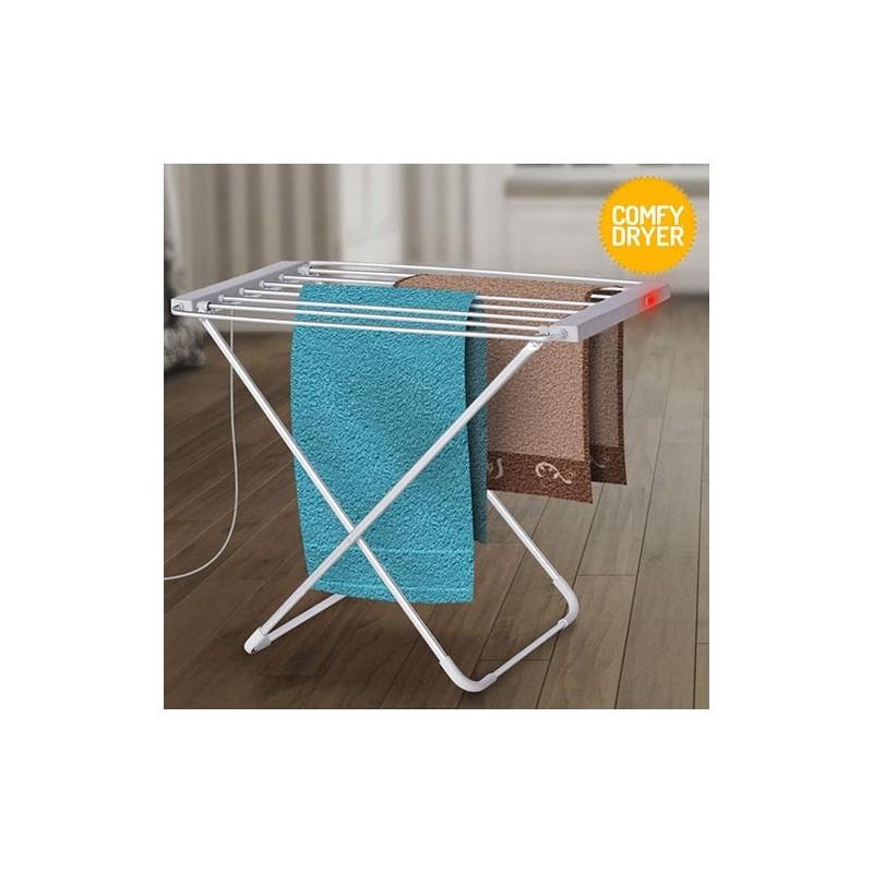 Estendal Eléctrico de Roupa 6 Barras - 100W - Leve o Verão para dentro de sua casa! Elimine dias sem fim de secagem da roupa durante o Inverno.