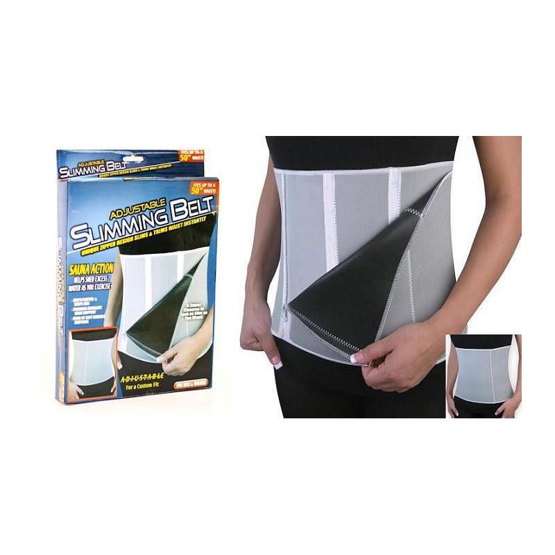 Aqui esta uma cinta fantastica com efeito sauna que vai ajudar a ter o corpo fitness para o Verao.