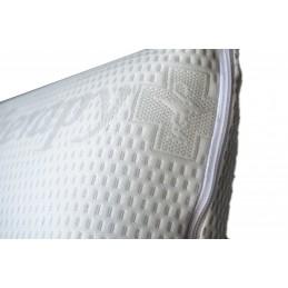 Almofada viscoelástica Deluxe feito com materiais de alta qualidade fornecidos pela Bayer, almofada de luxo que fará as suas noites de sono melhores.