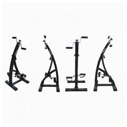 O Pedalador Dual Bike é um aparelho de ginástica muito útil e prático uma vez que pode exercitar os músculos das pernas e dos braços ao seu ritmo