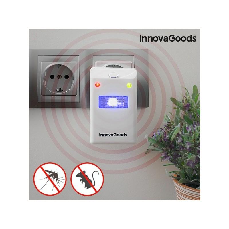Repelente de Insetos e Roedores - eficaz repelente cria um escudo protetor anti-pragas para manter o lar livre de roedores e insetos.