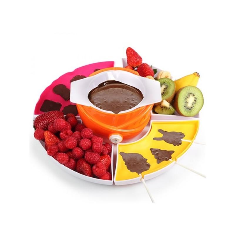 Fondue de Chocolate completo é uma excelente forma de entreter os seus amigos, sobretudo aqueles que não conseguem passar sem chocolate
