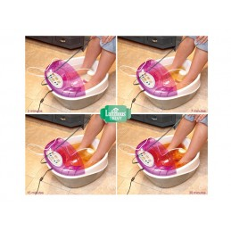 Desintoxicador celular Hidrossana Detox Foot. Equipamento digital de última geração que promove a desintoxicação do organismo.