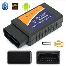 ELM 327 Bluetooth transmite informação que permite verificar o estado do seu motor e informações úteis sobre o desempenho do seu carro.