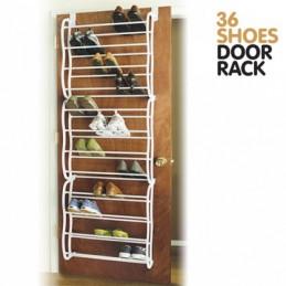 A sua casa vai ficar com outro aspecto, quando conseguir dispor os seus sapatos nesta Organizador de porta para Sapatos, super prático e resistente.