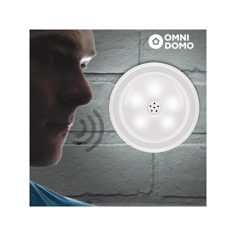 Foco LED com Sensor de Volume de Voz