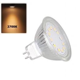Lâmpada LED GU5.3 - MR16 4W...