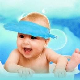 Viseira para banho baby Perfeita para que os mais pequenos possam tomar banho de uma forma tranquila, evitando irritação nos olhos do seu bebé
