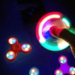 Fidget Spinner LED -...