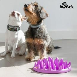 Desafie o seu animal de estimação de forma divertida e promova uma digestão saudável com a ajuda do Comedouro Interativo para Animais de Estimação