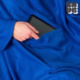 Manta com Mangas Extra Suave, descubra esta manta super original e super prática que irá manter todo o seu corpinho ao quente.