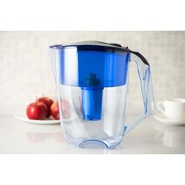 Jarra purificador de água melhora a qualidade e sabor, Reduz o cloro, calcário a presença de metais pesados como o chumbo e cobre, Preservando os minerais