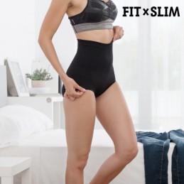 Este culotte suave e discreto, realça os glúteos e comprime as zonas lombar e abdominal. Uma forma rápida e simples de melhorar a silhueta