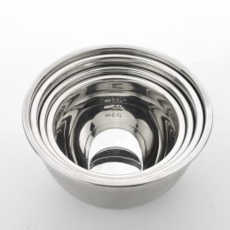 Conjunto de 4 Taças metálicas de aço inoxidável com tampa de silicone, Faça suas criações graças a este Conjunto de taças para a vida