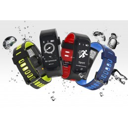 Bracelete Relógio F4 com...