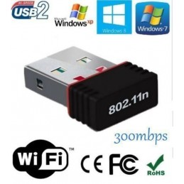Adaptador Wifi USB Wireless...