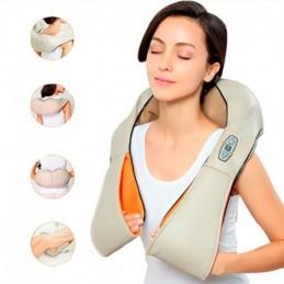 Massajador Shiatsu 3D com...
