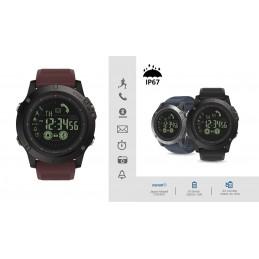Tenha todas as funcionalidades do seu Smartphone no seu pulso com este Relogio Smartwatch Vibe 3 - Bateria para 33 Meses - IP67 a prova de agua