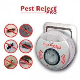 O Pest Reject Pro combina a avançada tecnologia do electromagnetismo e ultra som que repele de forma mais eficaz os roedores e insectos voadores.