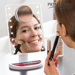 Espelho LED com aumento...