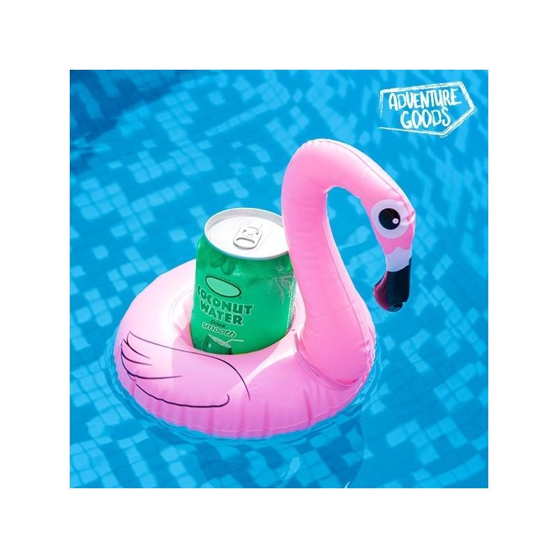 Proporcione o melhor divertimento nos dias quentes com a Bóia insuflável para Bebidas Flamingo