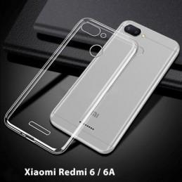 Capa 360 Gel Dupla Frente e Verso - Xiaomi Redmi 6 - 6A, Forneça uma protecção extra ao seu equipamento com esta capa em Gel de elevada qualidade