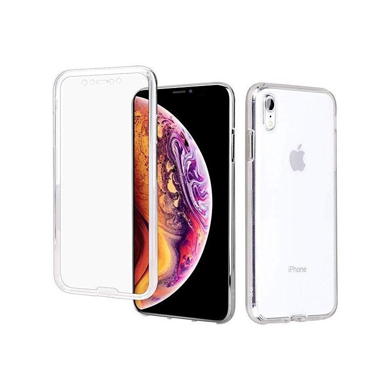 Capa 360 Gel Dupla Frente e Verso - iPhone XR, Forneça uma protecção extra ao seu equipamento com esta capa em Gel de elevada qualidade