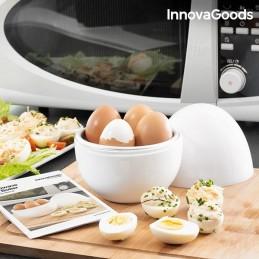 Este inovador cozedor de ovos para o micro ondas sera uma grande ajuda na sua cozinha.