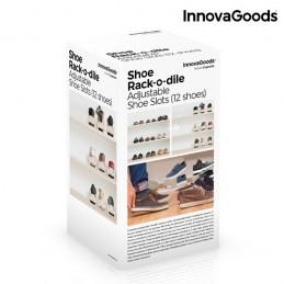 Ponha o seu calcado em ordem com o novo Organizador de Sapatos Regulável para 12 peças de calçado