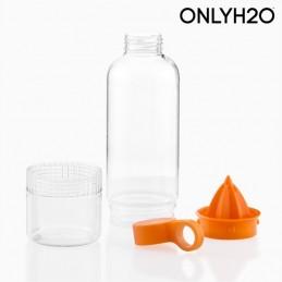 Garrafa para liquidos permite-lhe criar uma panoplia de combinacoes saudaveis e naturais.