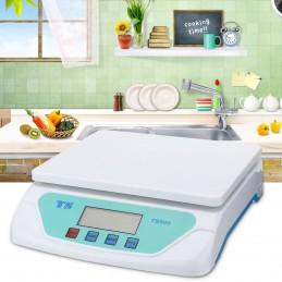 Balança de cozinha tem um peso muito preciso e pode pesar até 25 kg com exactidão em gramas, por isso adequa-se a toda a cozinha.