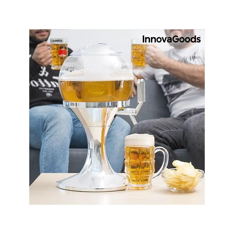 Dispensador e Refrigerador de Bebidas - tem a dupla possibilidade de refrescar e armazenar qualquer bebida, capacidade de 3,5 litros.