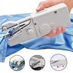 Gracas ao seu tamanho reduzido, esta maquina de costura e perfeita.