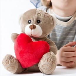 Urso de Peluche Coração