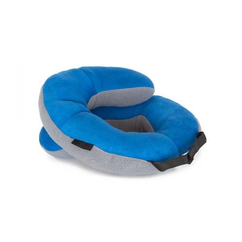Uma almofada inteligente que te ajudar a relaxar em qualquer lado, gracas as suas 3 posicoes.