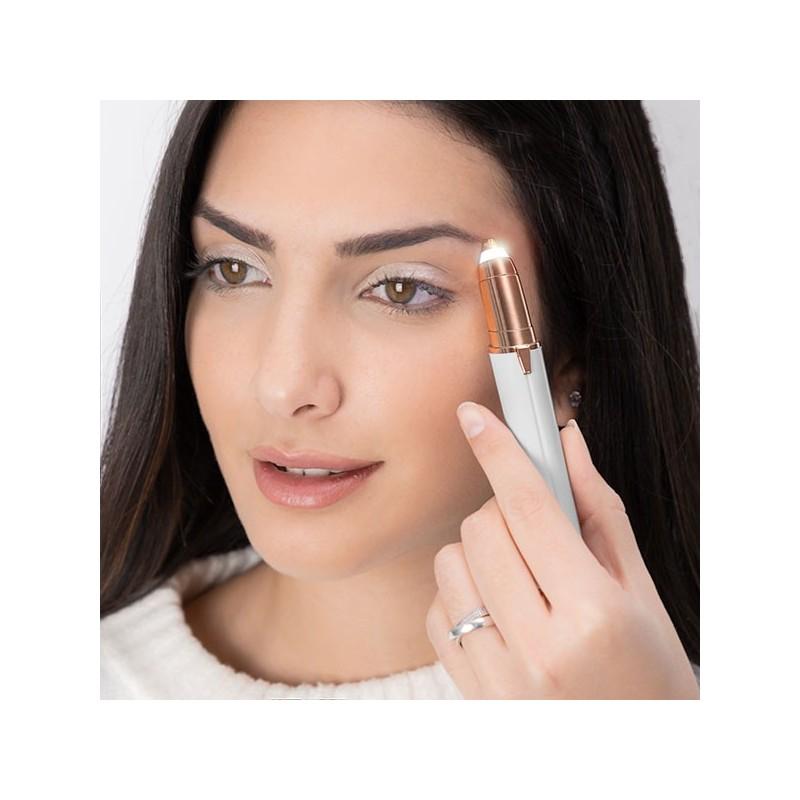 Remova os pelos de forma eficaz e indolor com a ajuda da Depiladora de Precisao Facial
