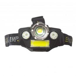 Lanterna de Alto desempenho com intensidade luminosa de 2000 lm e vida útil de até 100.000 horas.