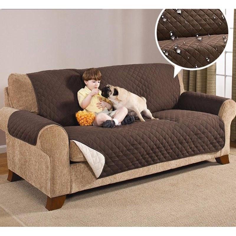Sofa Saver - Proteja o seu sofá de manchas e pelos e dê uma nova vida à sua sala com este protetor de sofás reversível.