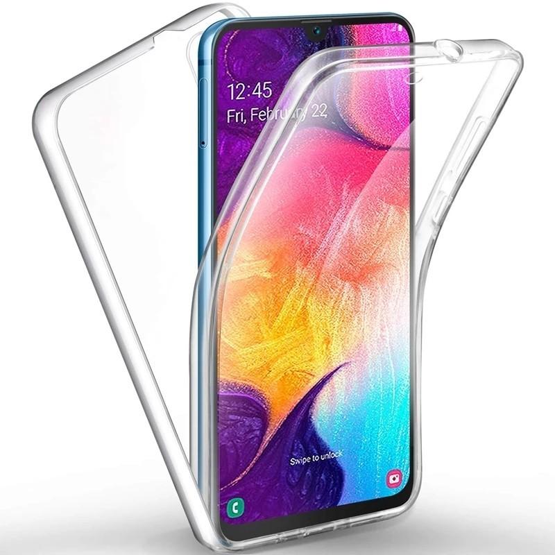 Capa 360 Gel Dupla Frente e Verso - Samsung Galaxy A30 - A20, Forneça uma protecção extra ao seu equipamento com esta capa em Gel de elevada qualidade