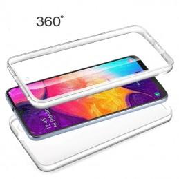 Capa 360 Gel Dupla Frente e Verso - Samsung Galaxy A50, Forneca uma proteccao extra ao seu equipamento com esta capa em Gel de elevada qualidade