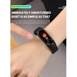 Bracelete Relógio M4 com Bluetooth à prova de água, tenha todas as funcionalidades do seu Smartphone - Android ou Iphone no seu pulso.