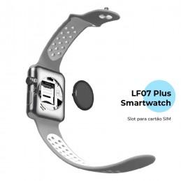 LF07 Plus é um Smartwatch com um optimo Design e desempenho, que vai facilitar as suas tarefas do dia a dia, sempre com grande qualidade.