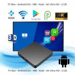 TV Box - Android 9.0 - X96...