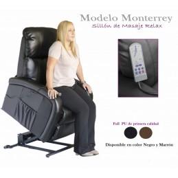 Poltrona - Cadeirão Levanta Pessoas possui um sistema que permite que o sofá levante e desça permitindo que a pessoa se sente ou saia sem efetuar qualquer esforço