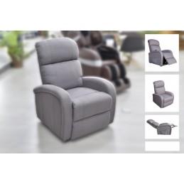 Poltrona que  possui um novo e exclusivo sistema, com o qual você pode desfrutar de uma massagem profissional confortavelmente