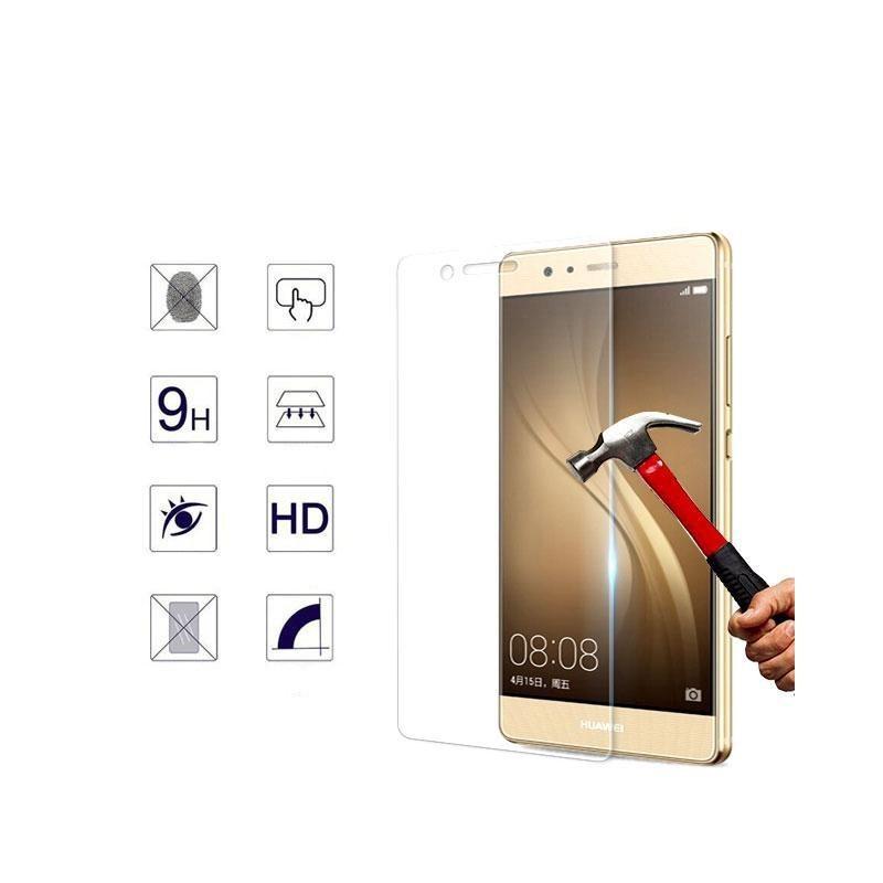 Esta Película Especial de Vidro Temperado para Huawei P9, para protecção do ecrã é feita de vidro temperado, 9x mais resistente que o vidro comum.