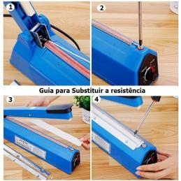 Kit manutencao de seladora de 30cm, para quando sua seladora precisa de uma Resistencia nova.
