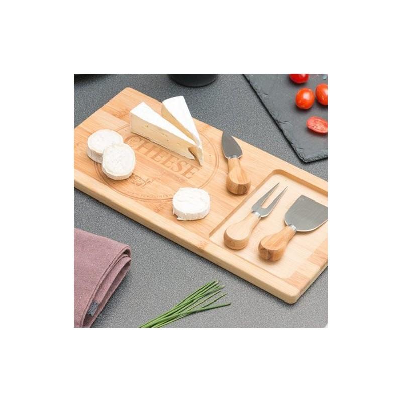 A escolha ideal para cortar e apresentar os queijos mais especiais com estilo e elegância.