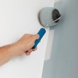 Um conjunto completo de rolos de pintura recarregáveis com grande capacidade de cobertura que minimizam o tempo e o esforço de pintar e evitam derrames e gotas.