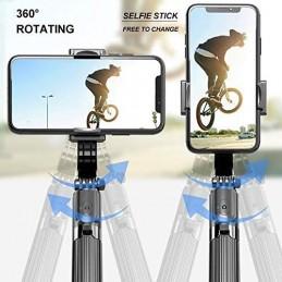 Crie fotos incríveis e capture vídeos profissionais com este excelente selfie stick com estabilizador.